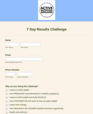 7 Day Results Challenge
