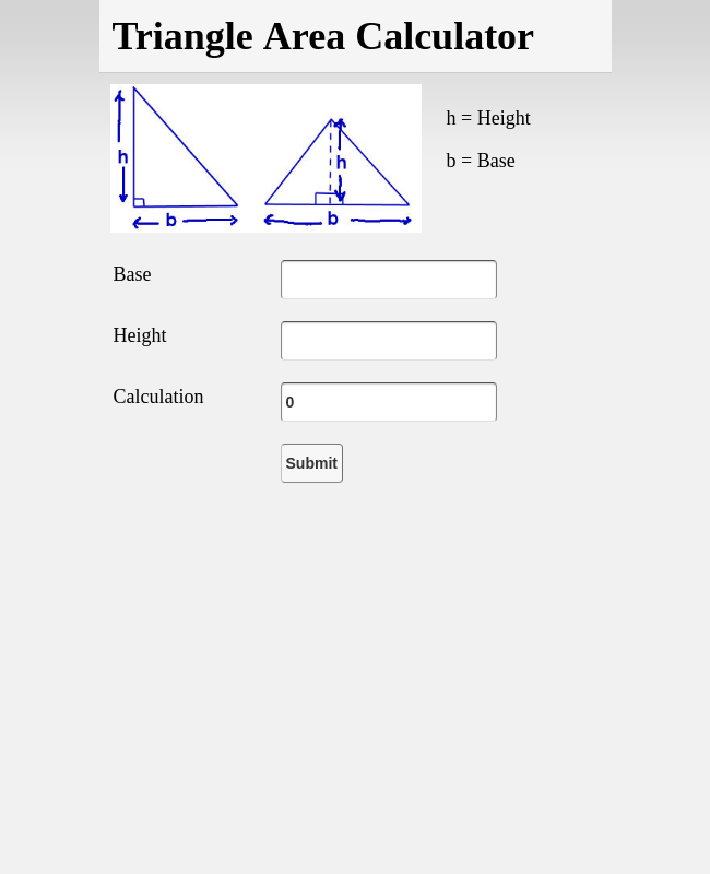 Triangle Area Calculator