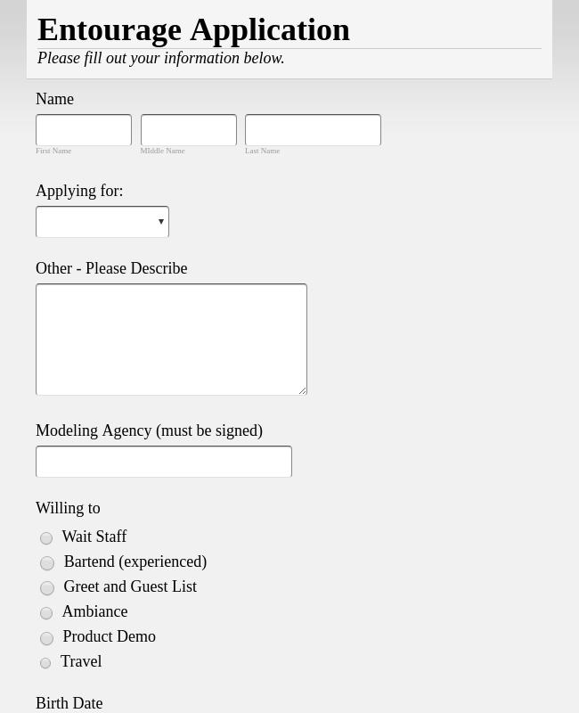 160+ Free Human Resources (HR) Form Templates | JotForm