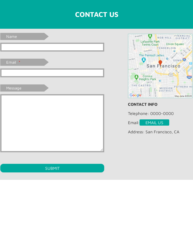 Full Width Contact Form