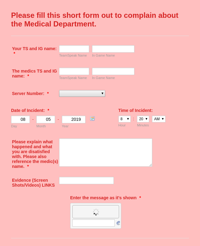Online Doctor Appointment Form Template | JotForm