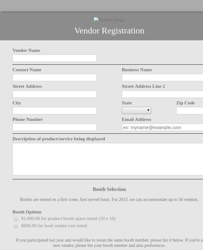 Seller Registration