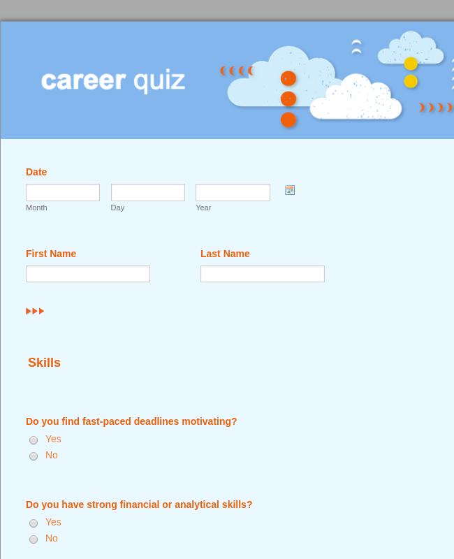 Career quiz