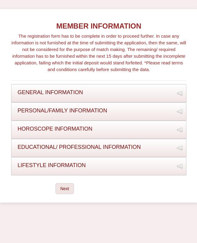 Marriage Registration Form Template | JotForm