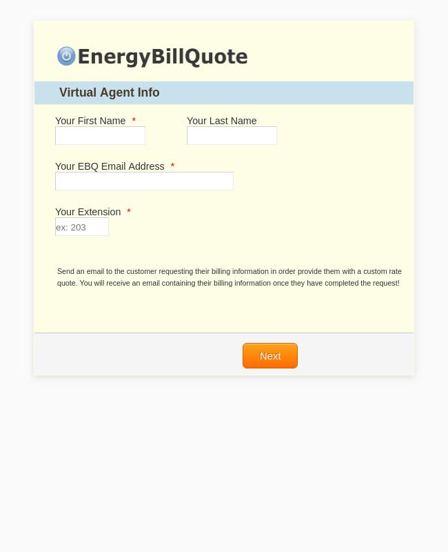 EBQ Virtual Agent - Send Email