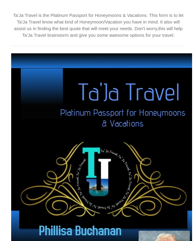 Travel Booking Form