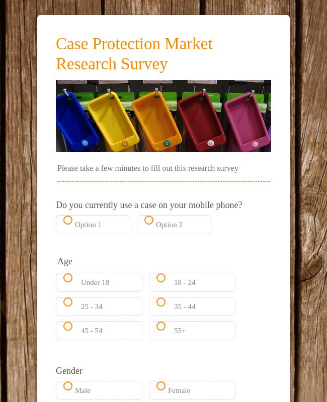 Market Research Survey for Agencies