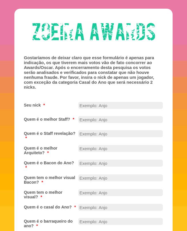 Zoeira Awards