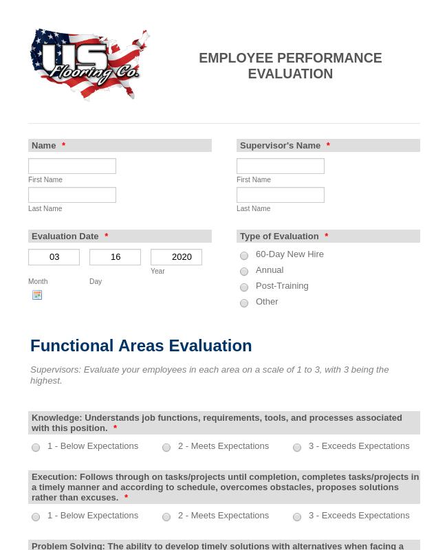 Employee Performance Evaluation