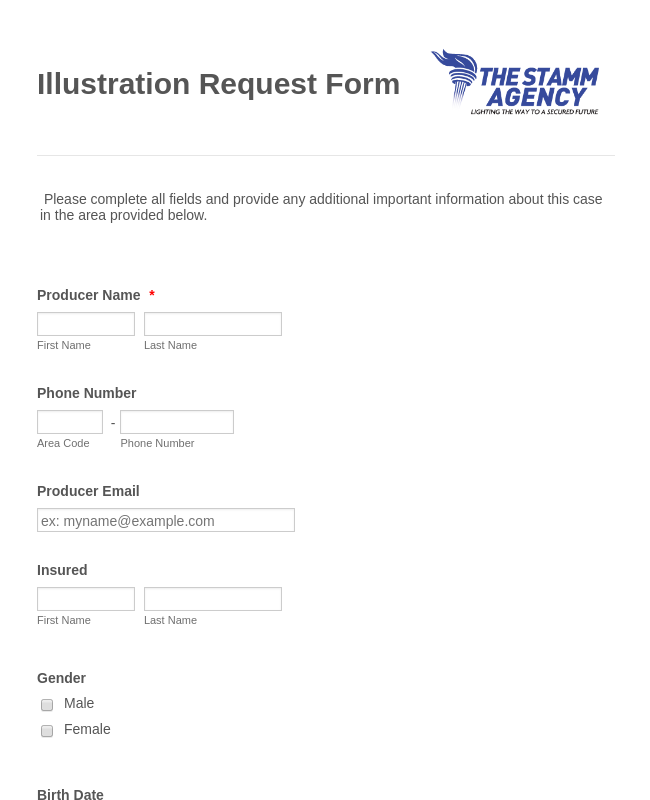 Life-Insurance Quote Form