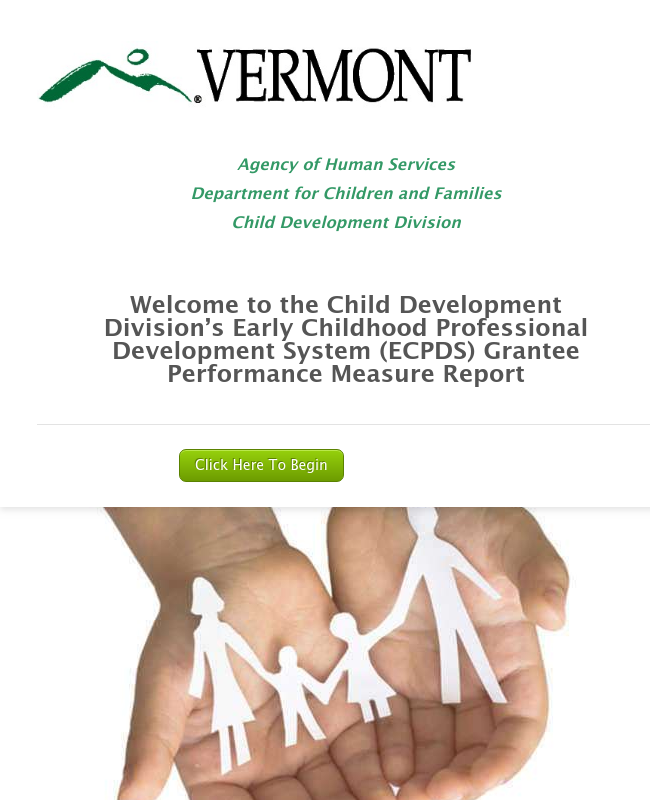 Early Childhood Professional Develop System (ECPDS) Grant Perfomance Measures Reporting