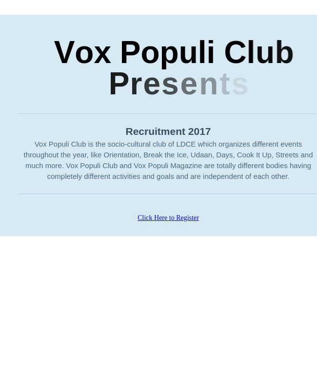 Club Membership Registration Form