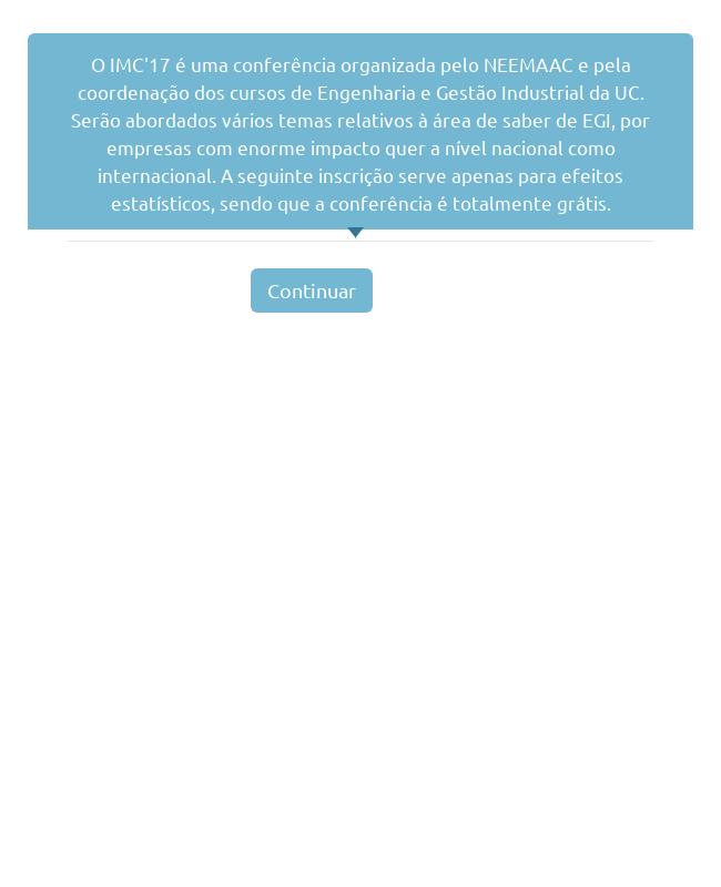 Conference Registration Form in Portuguese