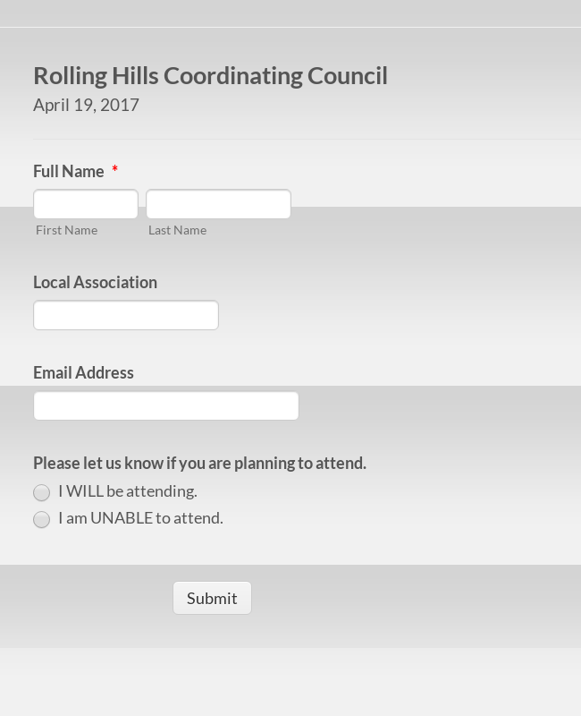 Rolling Hills UniServ Coordinating Council