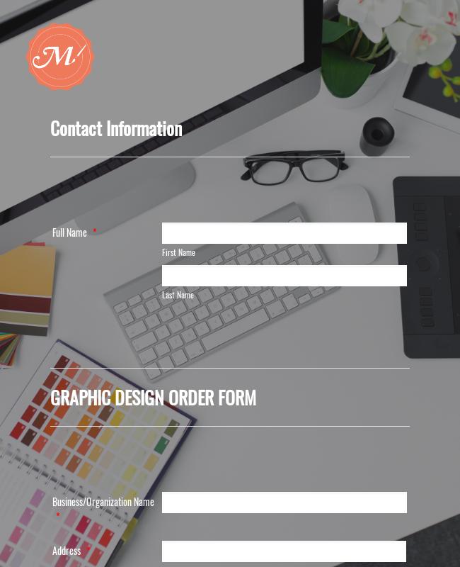 Macon Designs Order Form