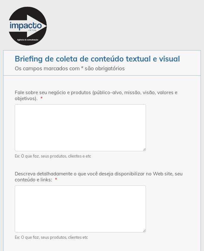 Briefing Website Facinatus
