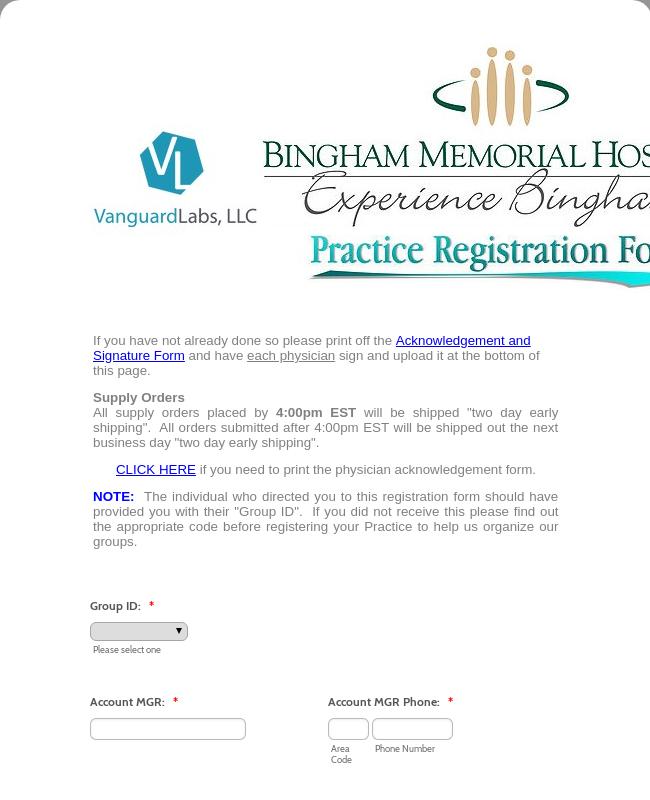 Registration - Tox Allergy