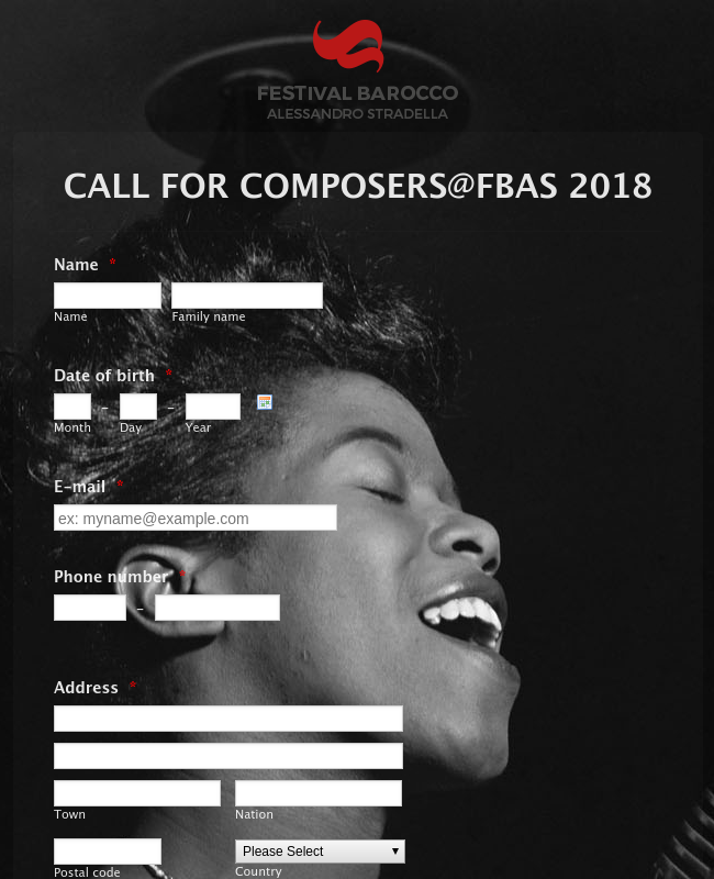 CALL FOR COMPOSERS