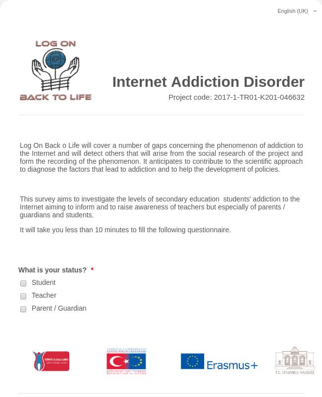 Internet Addiction Disorder Survey