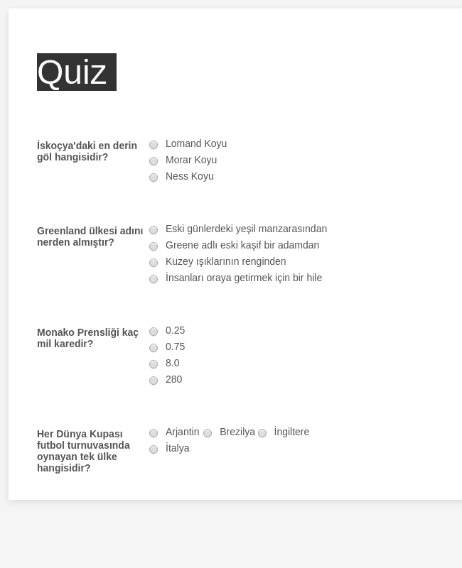 Quiz Kopyası