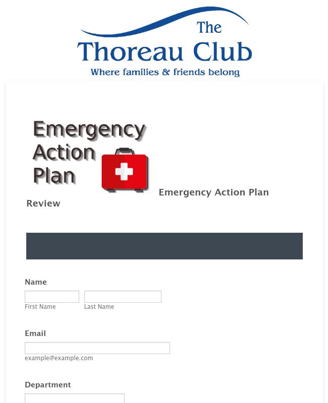 Emergency Action Plan Quiz