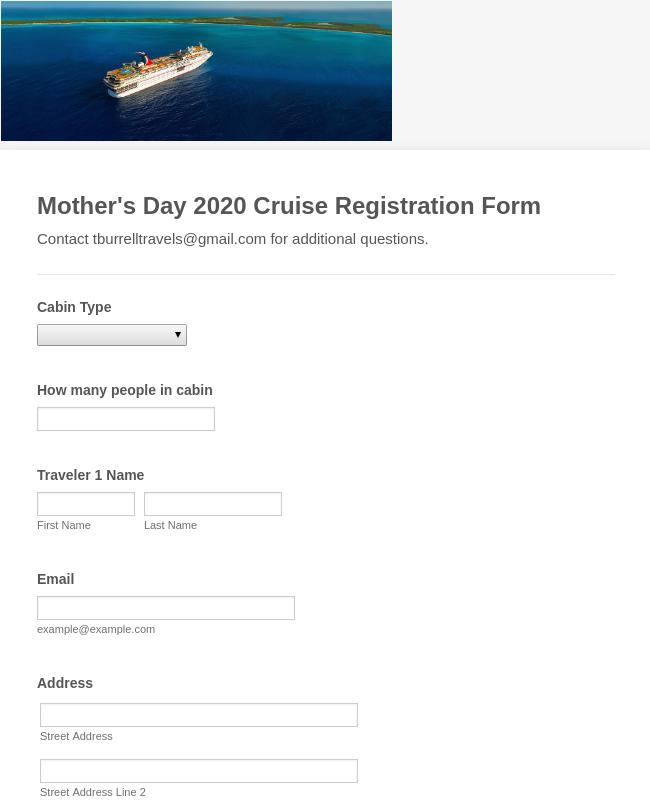 Cruise Template