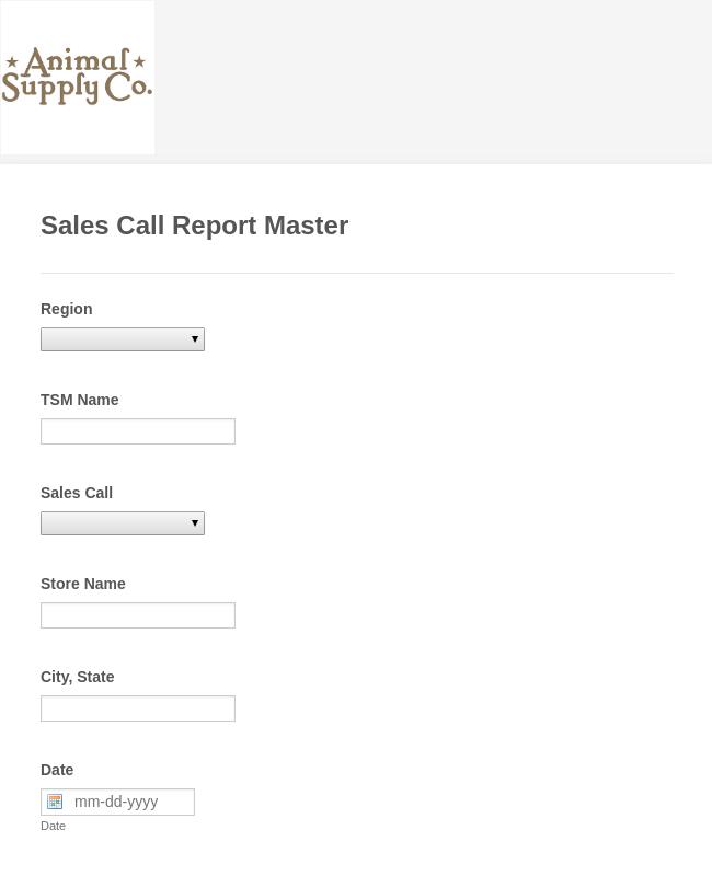 ASC Sales Call Report v2
