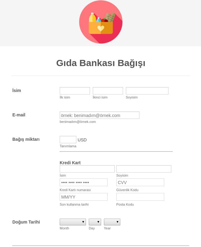 Kare Gıda Bankası Bağışı