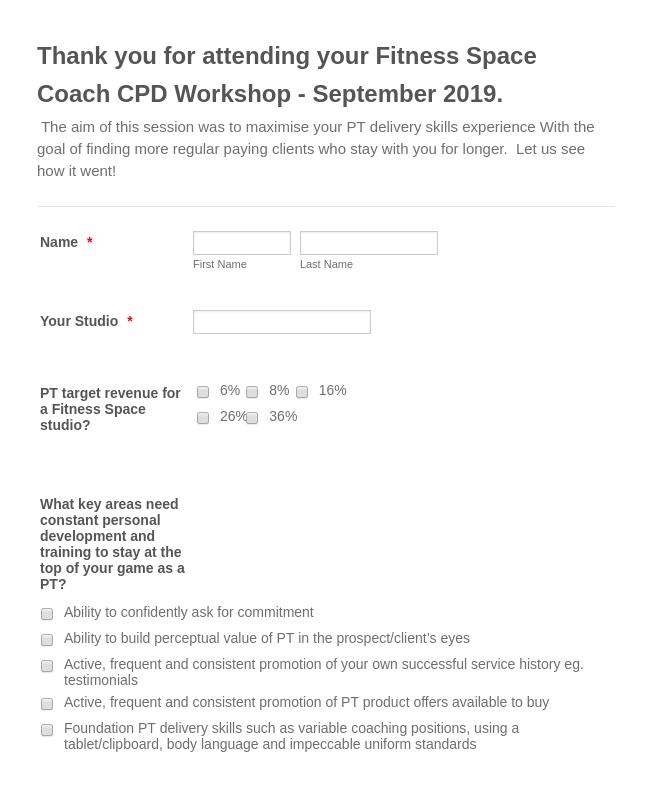 CPD Workshop