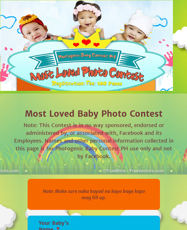 Most Loved Baby Photo Contest Batch 17
