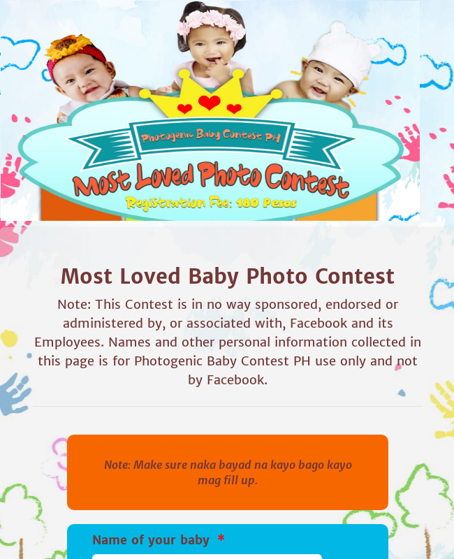 Most Loved Baby Photo Contest Batch 19