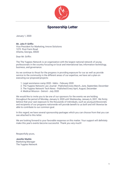 Thank You Letter To Sponsors from cdn.jotfor.ms