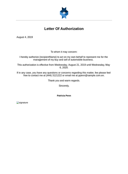 Authorization Letter To Represent On Behalf Of Company from cdn.jotfor.ms