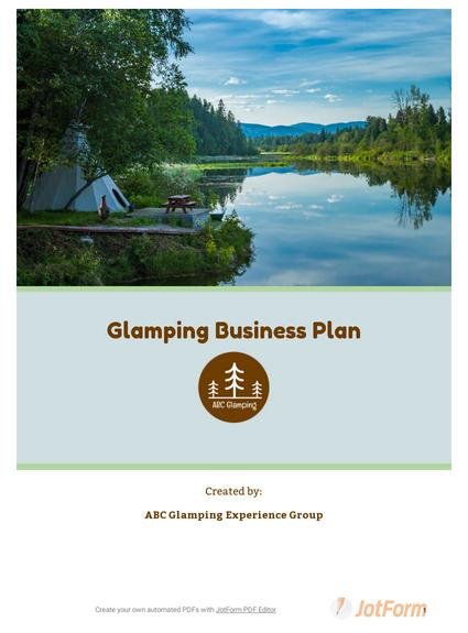Glamping Business Plan