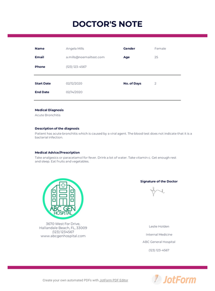 Free Doctor Note Template For Work from cdn.jotfor.ms