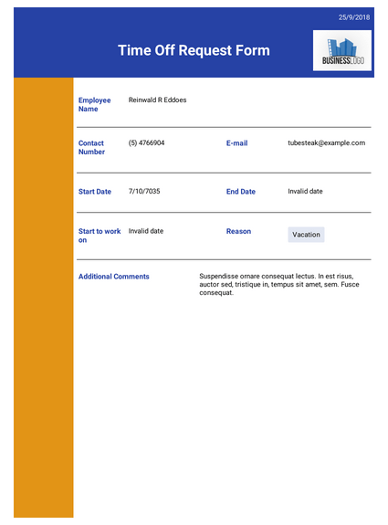 time-off-request-template Job Application Cover Letter Email Template Legal Instant Edress on