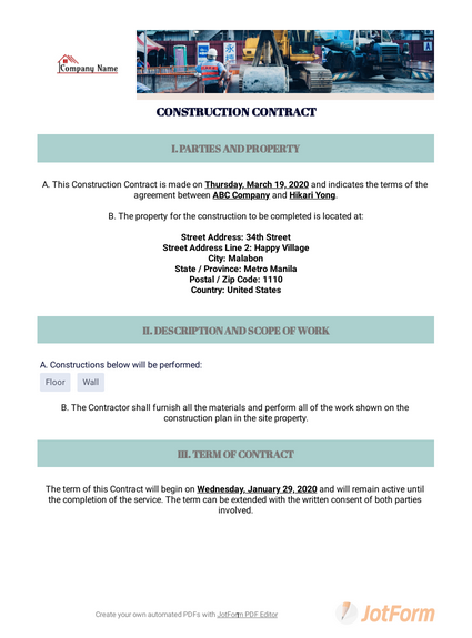 Business Contract Template Free from cdn.jotfor.ms