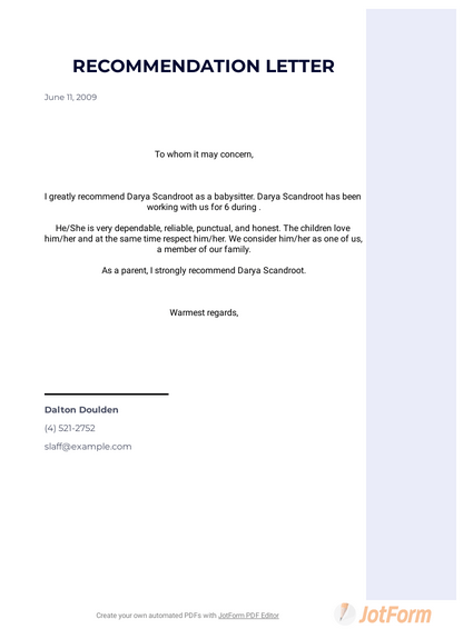 Self Recommendation Letter Sample from cdn.jotfor.ms