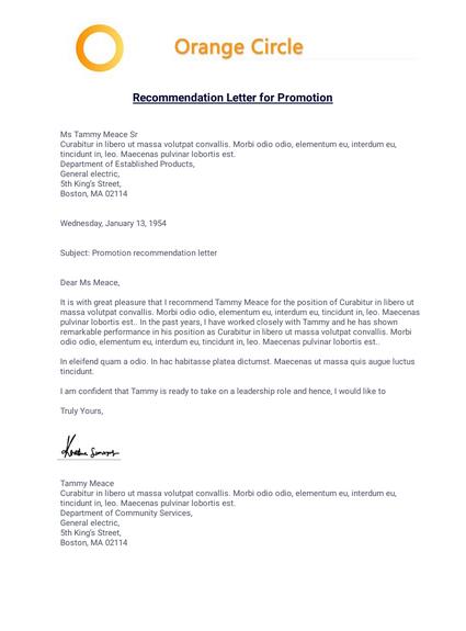 Promotion Letter To Employee Pdf Templates Jotform