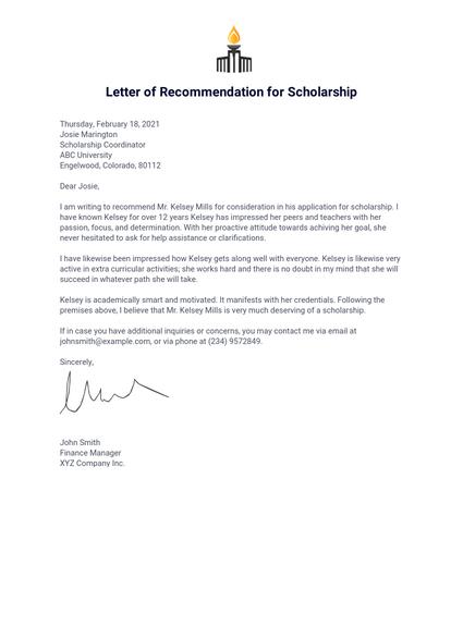 Letter of Recommendation for a Teacher Colleague - PDF ...