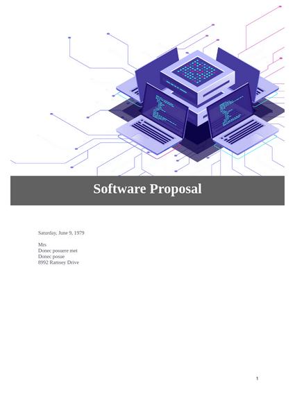 Software Proposal
