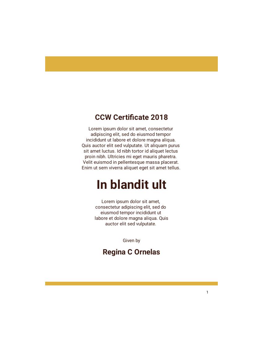 Certificate Templates PDF Templates JotForm