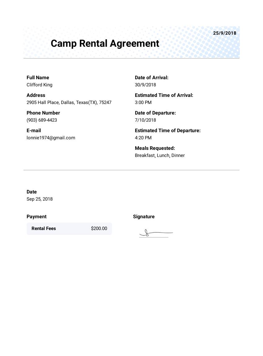 Rental agreement template pdf templates jotform camp rental lease agreement template maxwellsz