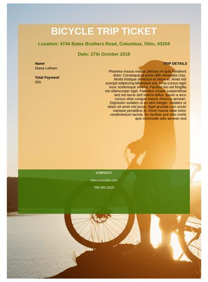 Bicycle Trip Registration