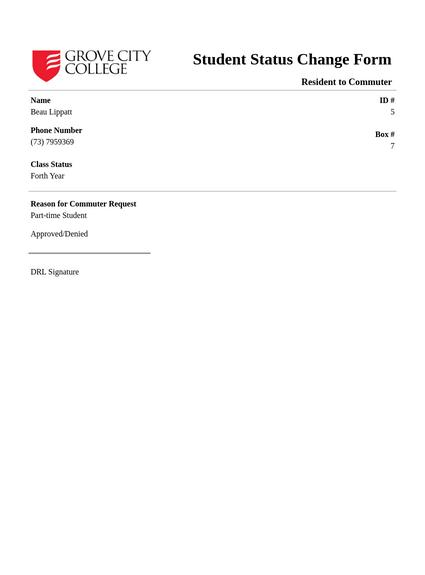 GCC Standard PDF Form Style