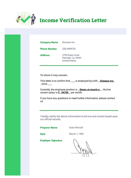 Account Verification Letter Template.Income Verification Letter Template Pdf Templates Jotform