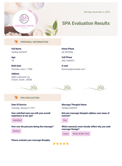 SPA Evaluation