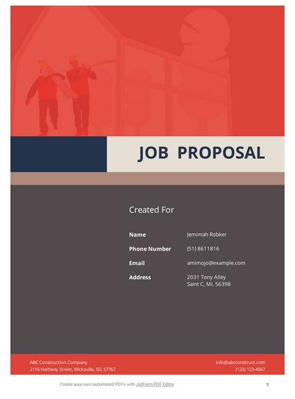 Software Proposal Template Pdf Templates Jotform